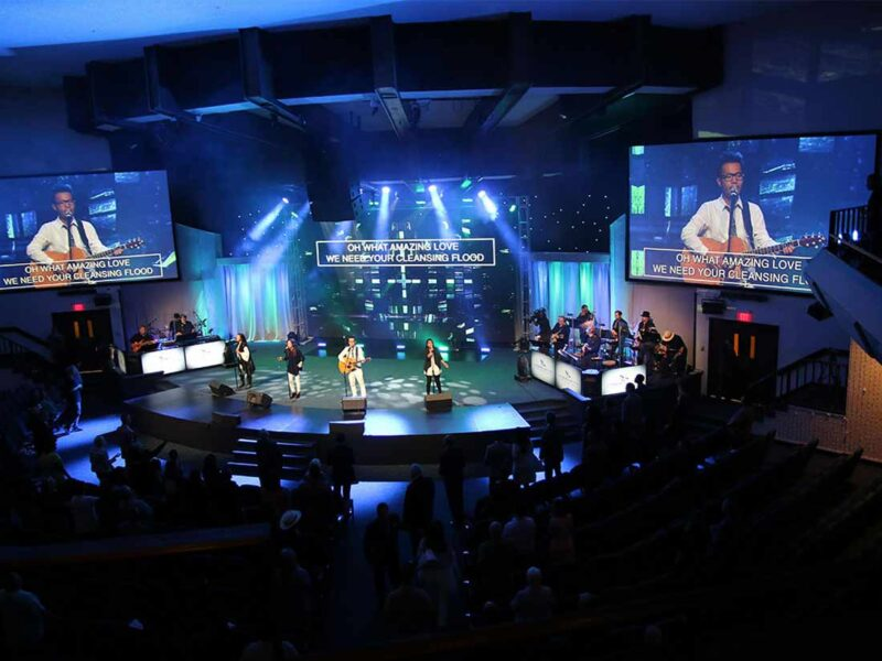 LED Video Wall for House of Worship